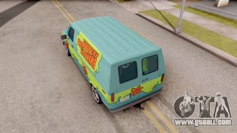 Ford Econoline 150 Scooby-Doo Mystery Machine for GTA San Andreas back view