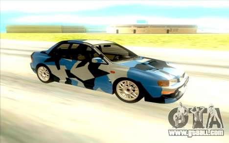 Subaru Impreza 22B STi for GTA San Andreas