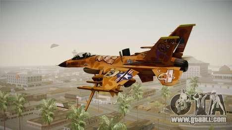 FNAF Air Force Hydra Freddy for GTA San Andreas left view