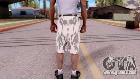 Breeches camo for GTA San Andreas third screenshot