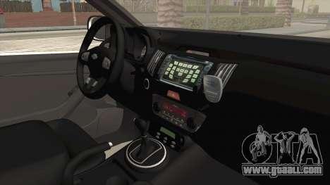 Chevrolet S10 Turkish Gendarmerie CSI Unit for GTA San Andreas back view