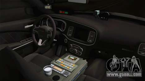 Dodge Charger 2015 Iowa State Patrol for GTA San Andreas inner view