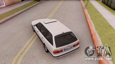 BMW 5-er E34 Touring Stock for GTA San Andreas back view