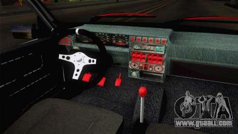 Dacia 1310 Berila Low for GTA San Andreas inner view