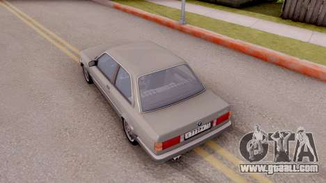 BMW E30 320i for GTA San Andreas back view