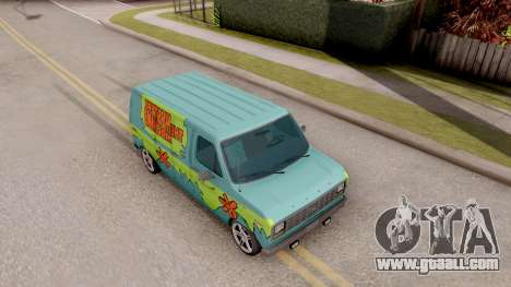 Ford Econoline 150 Scooby-Doo Mystery Machine for GTA San Andreas right view