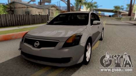 Nissan Altima 2009 for GTA San Andreas