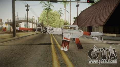 CS:GO - M4A1-S Freeze No Silencer for GTA San Andreas second screenshot