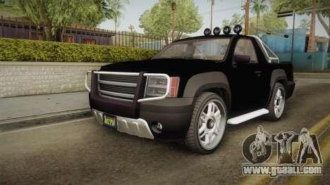 GTA 5 Declasse Granger Pick-Up IVF for GTA San Andreas