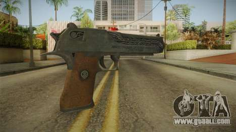 CS:GO - Desert Eagle Naga for GTA San Andreas second screenshot