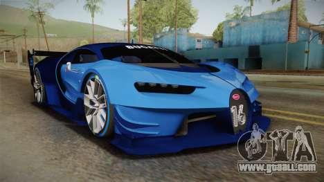Bugatti Vision GT for GTA San Andreas