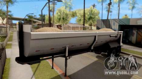 Dump Trailer from American Truck Simulator for GTA San Andreas