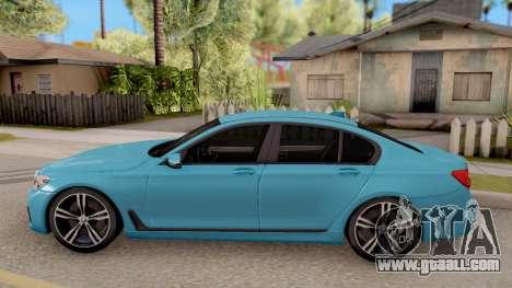 BMW 760 Li for GTA San Andreas left view