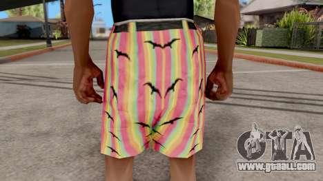 Shorts with seagulls for GTA San Andreas third screenshot