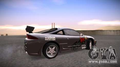 Mitsubishi Eclipse GSX for GTA San Andreas upper view
