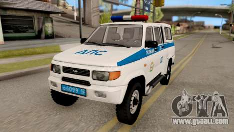 UAZ Simbir DPS for GTA San Andreas