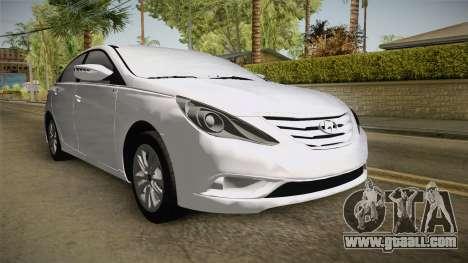 Hyundai Sonata 2013 for GTA San Andreas right view