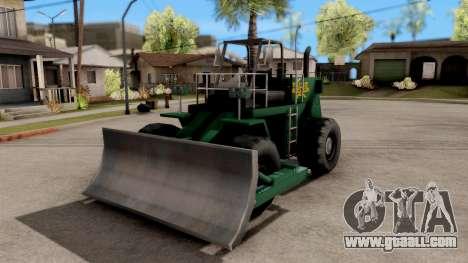 Paintable Dozer for GTA San Andreas