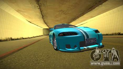 Mitsubishi Eclipse GSX for GTA San Andreas interior