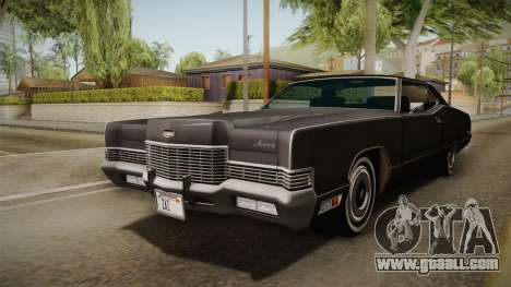 Mercury Marquis 2dr 1971 for GTA San Andreas right view