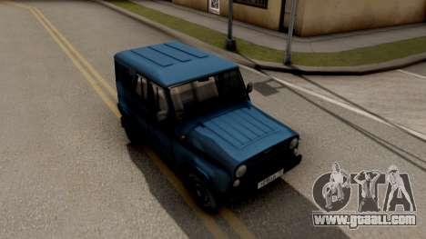 UAZ Hunter V8 Antigenic AcademeG for GTA San Andreas right view
