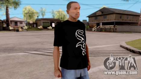 SOX T-Shirt for GTA San Andreas second screenshot