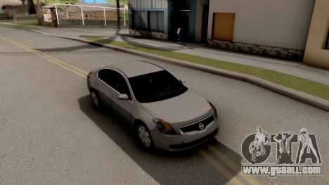Nissan Altima 2009 for GTA San Andreas right view