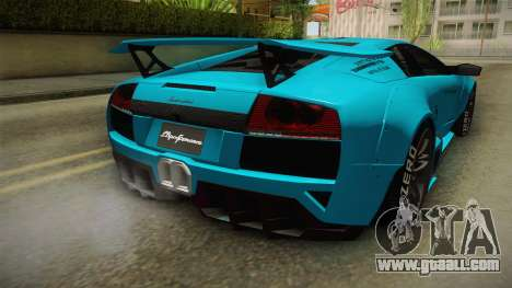Lamborghini Murcielago LP670-4 SV Liberty Walk for GTA San Andreas bottom view