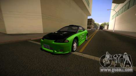 Mitsubishi Eclipse GSX for GTA San Andreas inner view