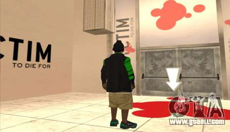 New Grove Street Pack for GTA San Andreas sixth screenshot