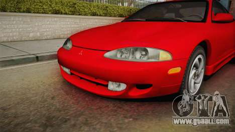 Mitsubishi Eclipse GSX 1995 Dirt IVF for GTA San Andreas side view