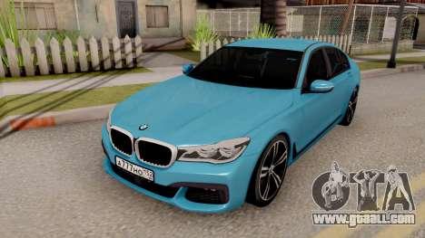 BMW 760 Li for GTA San Andreas