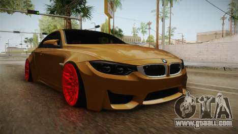 BMW M4 RS for GTA San Andreas right view