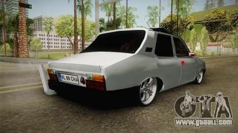 Dacia 1310 Berila Low for GTA San Andreas back left view