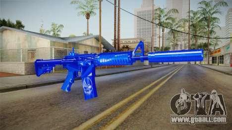Dark Blue Weapon 2 for GTA San Andreas