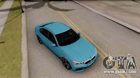 BMW 760 Li for GTA San Andreas right view