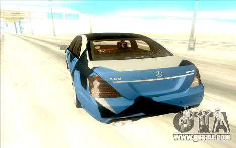 Mercedes-Benz S65 AMG for GTA San Andreas right view