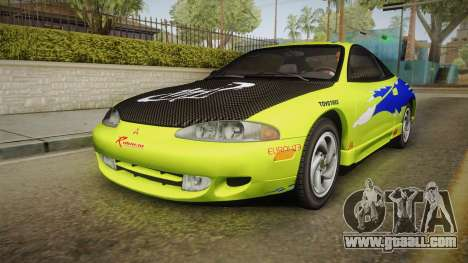 Mitsubishi Eclipse GSX 1995 Dirt IVF for GTA San Andreas engine