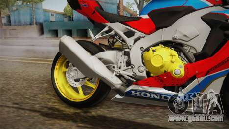 Honda CBR1000RR 2017 SP for GTA San Andreas