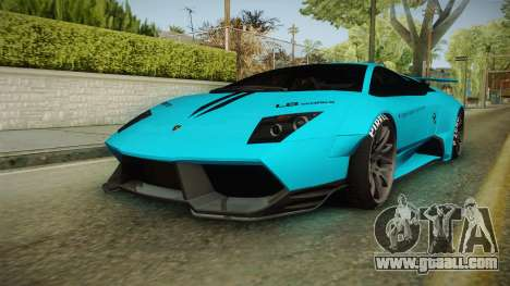 Lamborghini Murcielago LP670-4 SV Liberty Walk for GTA San Andreas