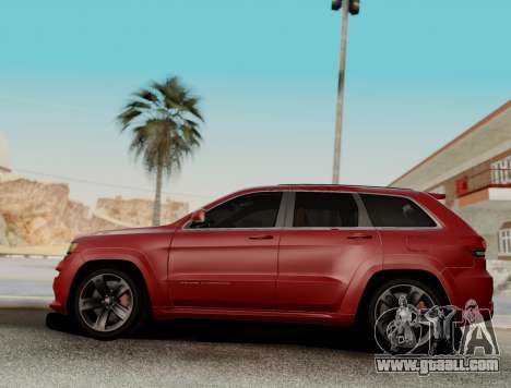 Jeep Grand Cherokee SRT 8 for GTA San Andreas left view