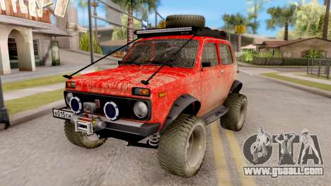 VAZ 2121 Niva Offroad for GTA San Andreas
