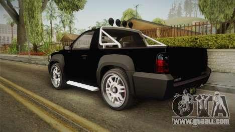 GTA 5 Declasse Granger Pick-Up IVF for GTA San Andreas left view