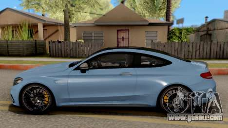 Mercedes-Benz C63S AMG Coupe for GTA San Andreas left view