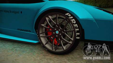 Lamborghini Murcielago LP670-4 SV Liberty Walk for GTA San Andreas back view
