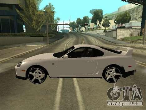 Toyota Supra Armenian for GTA San Andreas left view