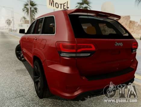Jeep Grand Cherokee SRT 8 for GTA San Andreas right view