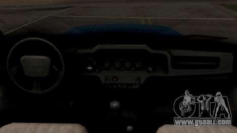 UAZ Hunter V8 Antigenic AcademeG for GTA San Andreas inner view