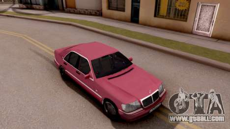 Mercedes-Benz S600 W140 for GTA San Andreas right view