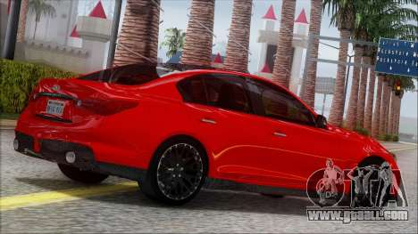 Infinity Q50 v1.5 for GTA San Andreas left view
